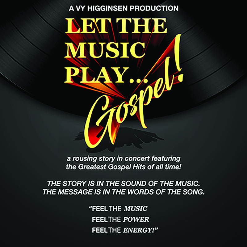 Let The Music Play Flyer