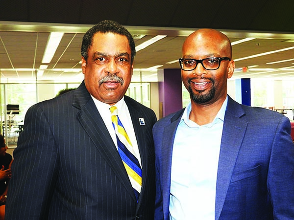 Dr. Ricky Woods and Dr. Willie Griffin