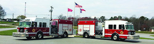 Stateville Fire Department Two New Engines