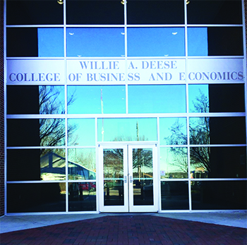 Willie A. Deese College of Business and Economics