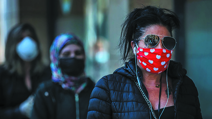 Women Wearing Masks