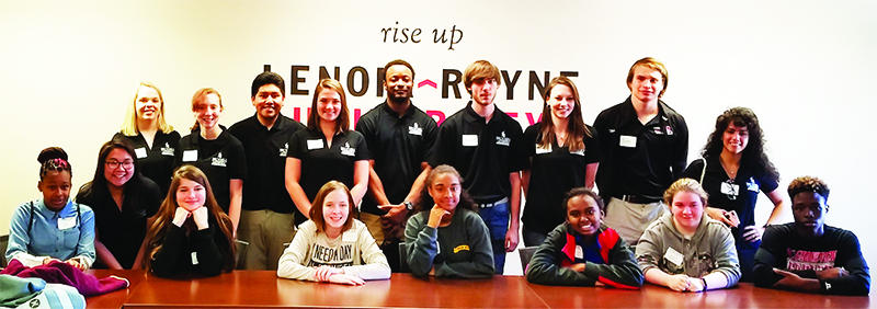 Lenoir-Rhyne University Broyhill Leaders
