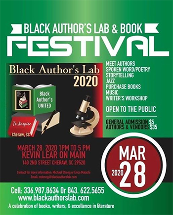 2nd Annual Cheraw Book Festival